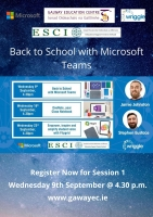 Back to School with Microsoft Teams