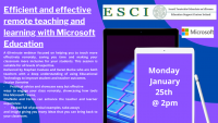 Efficient & Effective Remote Teaching  and Learning with Microsoft Education