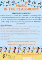 Music in the Classroom -  Performing: Song-singing