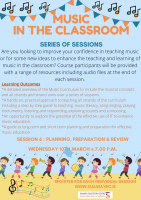 Music in the Classroom - Planning/Preparation/Review