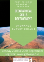 Teaching Post Primary Geography Series: Developing Geographical Skills - Ordnance Survey Session 1