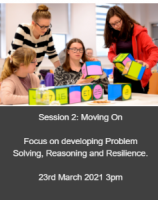 Problem Solving in Numeracy:  IZAK9 - Session 2 - Moving on
