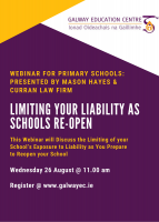 Legal Advice for School Leaders: Limiting your Liability as Primary Schools Re-Open