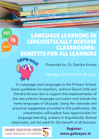 Language Learning in Linguistically Diverse Classrooms: Benefits for all Learners