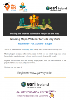 Missing Maps Webinar for GIS Day 2020