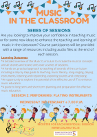 Music in the Classroom - Performing: Playing Instruments