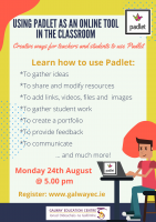 Using Padlet as an Online Tool in the Classroom