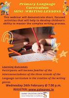 Primary Language Curriculum: Mini-Writing Lessons