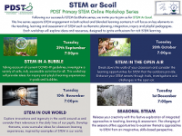 PDST Primary STEM ar Scoil - STEM in a Bubble