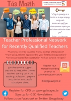 TÚS MAITH: Teacher Professional Community for Recently Qualified Teachers