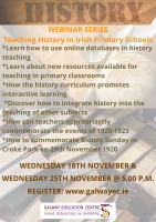 Teaching History in the Primary Classroom:  Session 1