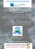 Using the Ocean to get creative with STEM in the classroom